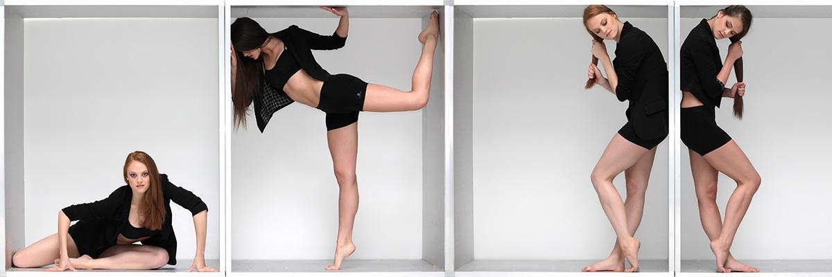 Modern tánc portfólió