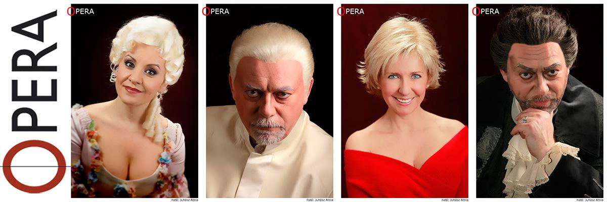 Opera portré portfólió